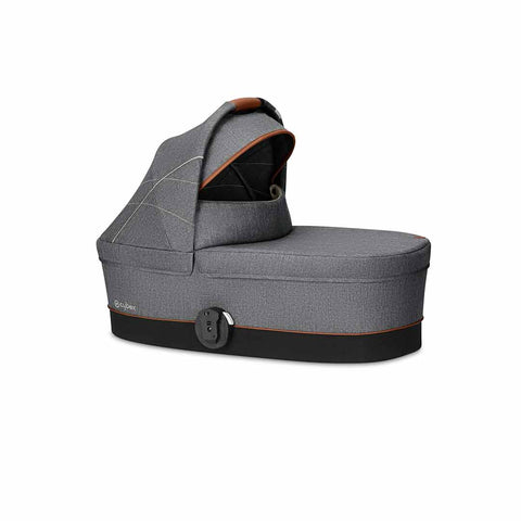 Cybex Cot S - Denim - Manhattan Grey-Carrycots- Natural Baby Shower