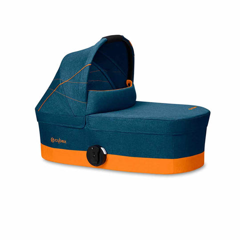 Cybex Cot S - Tropical Blue-Carrycots- Natural Baby Shower