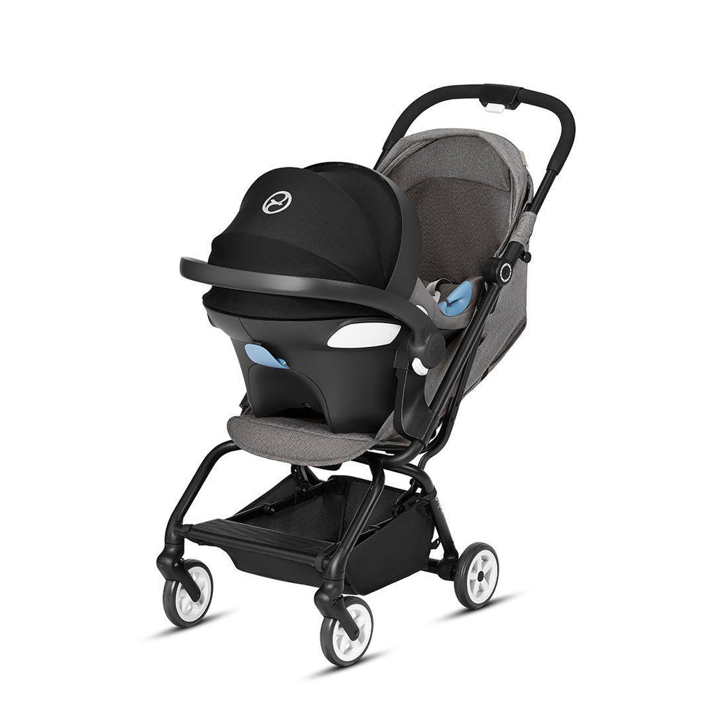 Cybex Eezy S Pushchair - Lavastone Black-Strollers- Natural Baby Shower