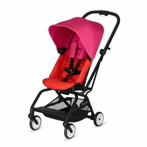 Cybex Eezy S Twist Pushchair - Fancy Pink-Strollers- Natural Baby Shower