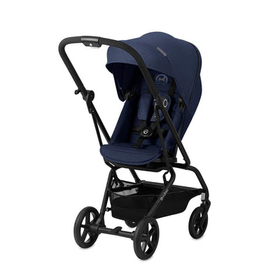 Cybex Eezy S Twist+ Pushchair - Denim Blue-Strollers- Natural Baby Shower