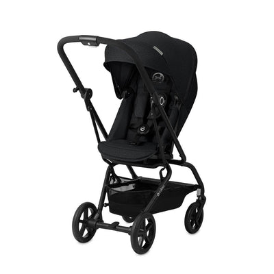 Cybex Eezy S Twist+ Pushchair - Lavastone Black-Strollers- Natural Baby Shower