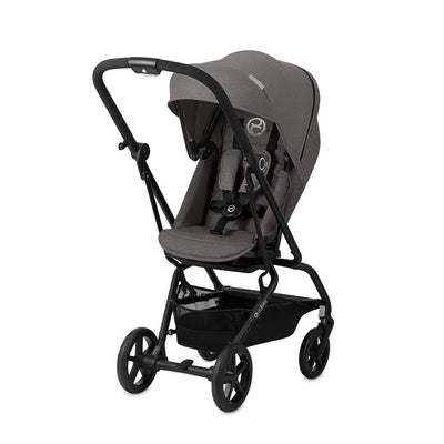 Cybex Eezy S Twist+ Pushchair - Manhattan Grey-Strollers- Natural Baby Shower