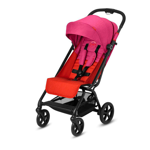 Cybex Eezy S+ Pushchair - Fancy Pink-Strollers- Natural Baby Shower