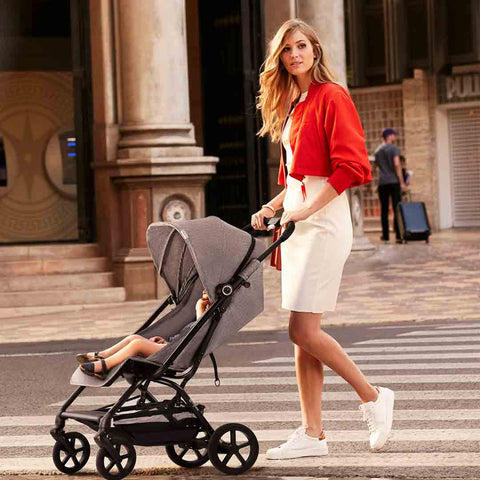 Cybex Eezy S+ Pushchair - Lavastone Black-Strollers- Natural Baby Shower