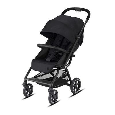 CYBEX Eezy S+2 Pushchair - Deep Black-Strollers- Natural Baby Shower