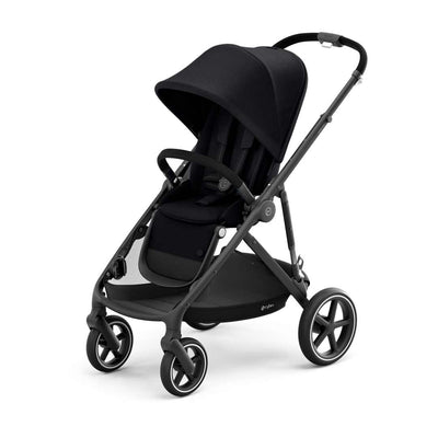 CYBEX Gazelle S Pushchair - BLK - Deep Black-Strollers- Natural Baby Shower