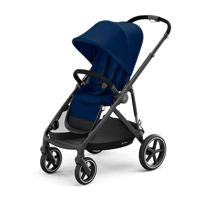 CYBEX Gazelle S Pushchair - BLK - Navy Blue-Strollers- Natural Baby Shower