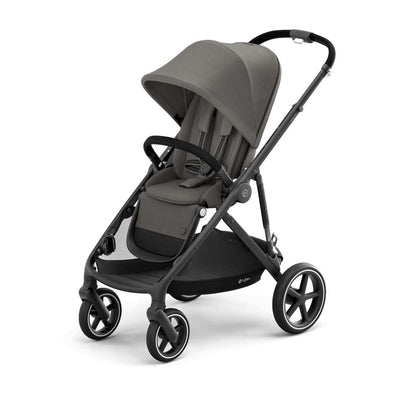 CYBEX Gazelle S Pushchair - BLK - Soho Grey-Strollers- Natural Baby Shower