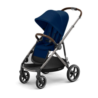 CYBEX Gazelle S Pushchair - TPE - Navy Blue-Strollers- Natural Baby Shower
