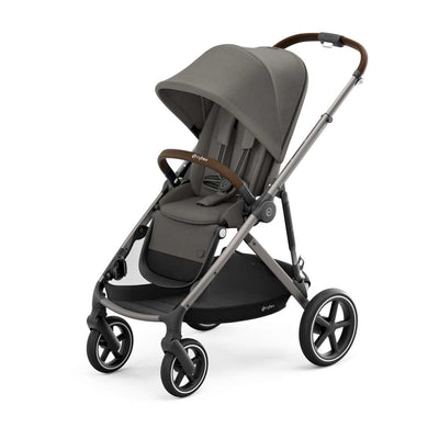 CYBEX Gazelle S Pushchair - TPE - Soho Grey-Strollers- Natural Baby Shower
