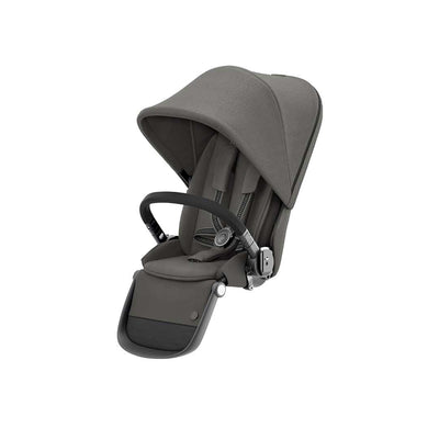 CYBEX Gazelle S Seat Unit - BLK - Soho Grey-Stroller Seats- Natural Baby Shower