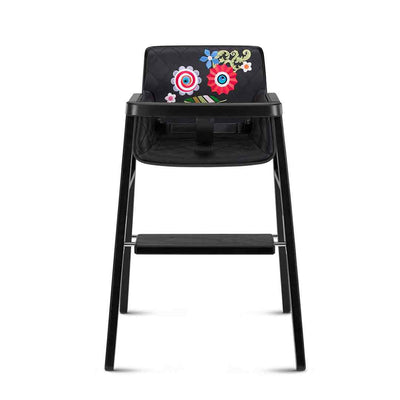 CYBEX Highchair by Marcel Wanders - Hippie Wrestler Black-Highchairs- Natural Baby Shower