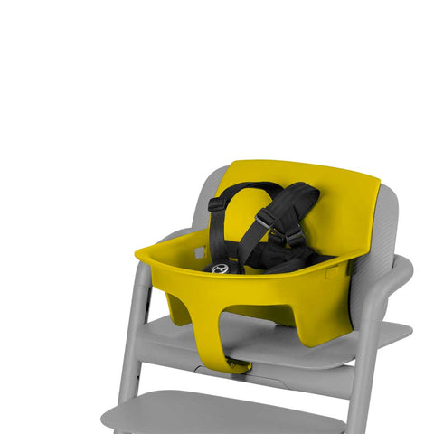 Cybex LEMO Baby Set - Canary Yellow-High Chair Safety Bars- Natural Baby Shower