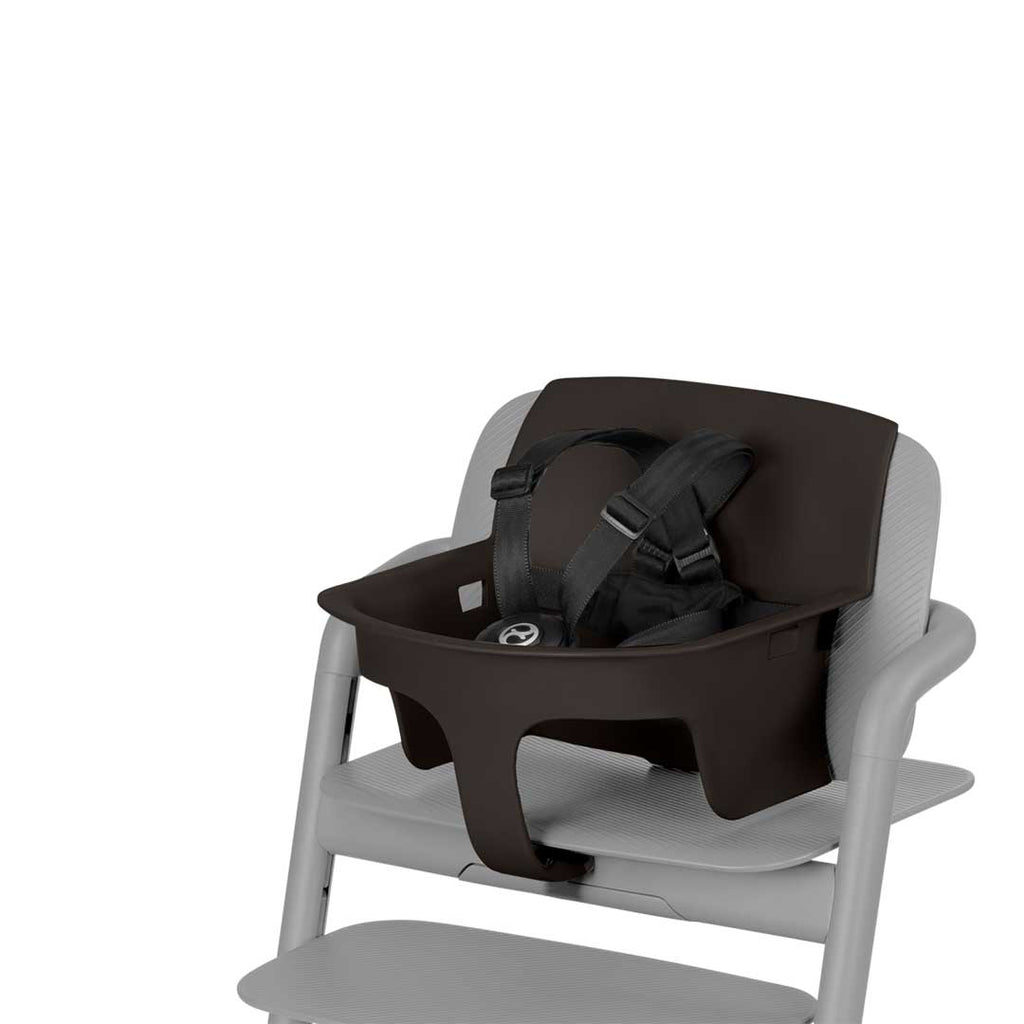 Cybex LEMO Baby Set - Infinity Black-High Chair Safety Bars- Natural Baby Shower
