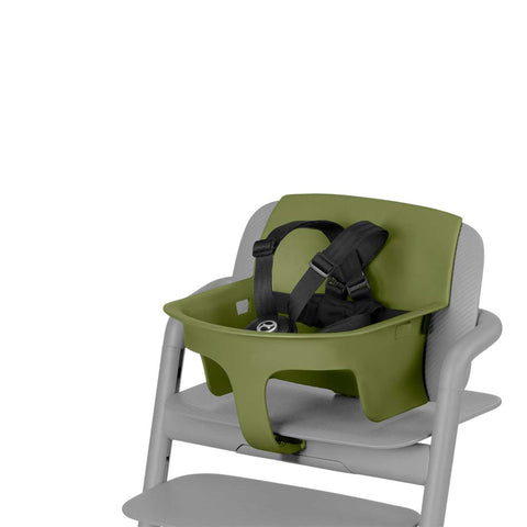 Cybex LEMO Baby Set - Outback Green-High Chair Safety Bars- Natural Baby Shower