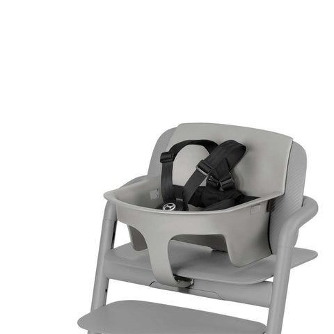 Cybex LEMO Baby Set - Storm Grey-High Chair Safety Bars- Natural Baby Shower