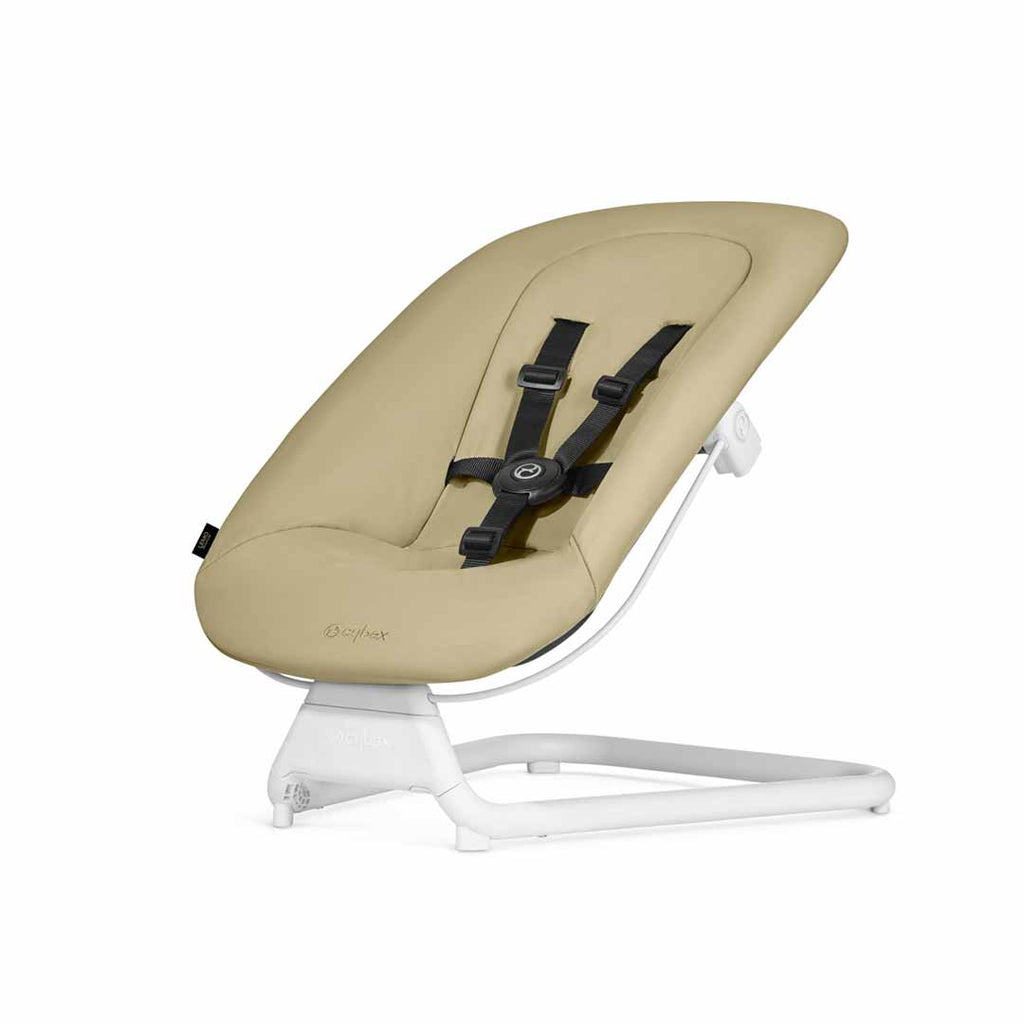 Cybex LEMO Bouncer - Pale Beige-Baby Bouncers- Natural Baby Shower