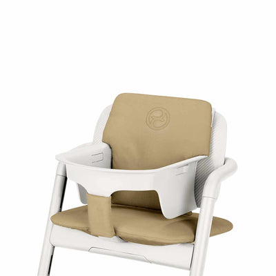 CYBEX LEMO Highchair Comfort Inlay - Pale Beige-Highchair Cushions & Pads- Natural Baby Shower