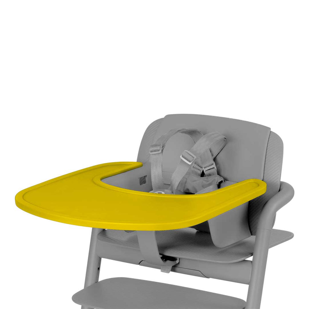 Cybex LEMO Highchair Tray - Canary Yellow-High Chair Trays- Natural Baby Shower