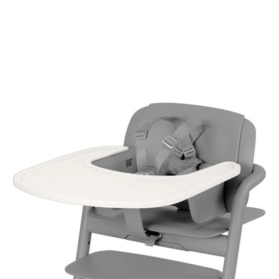 CYBEX LEMO Highchair Tray - Porcelaine White-Highchair Trays- Natural Baby Shower