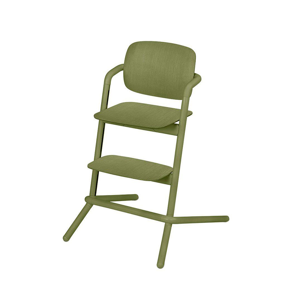 Cybex Lemo Wooden Highchair In Outback Green Natural Baby Shower