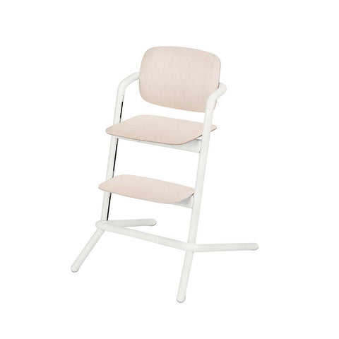 Cybex LEMO Wooden Highchair - Porcelaine White-High Chairs- Natural Baby Shower