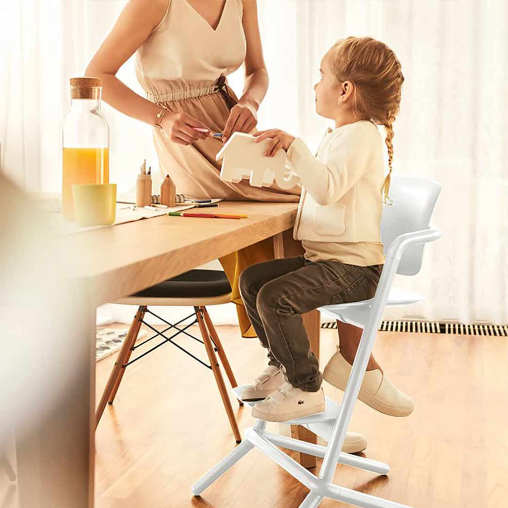 Superieur ... Cybex LEMO Highchair   Infinity Black High Chairs  Natural Baby Shower  ...