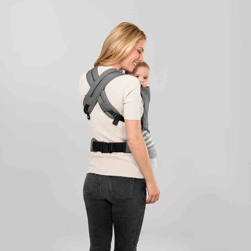 Cybex Maria Click Baby Carrier - Denim Blue Back
