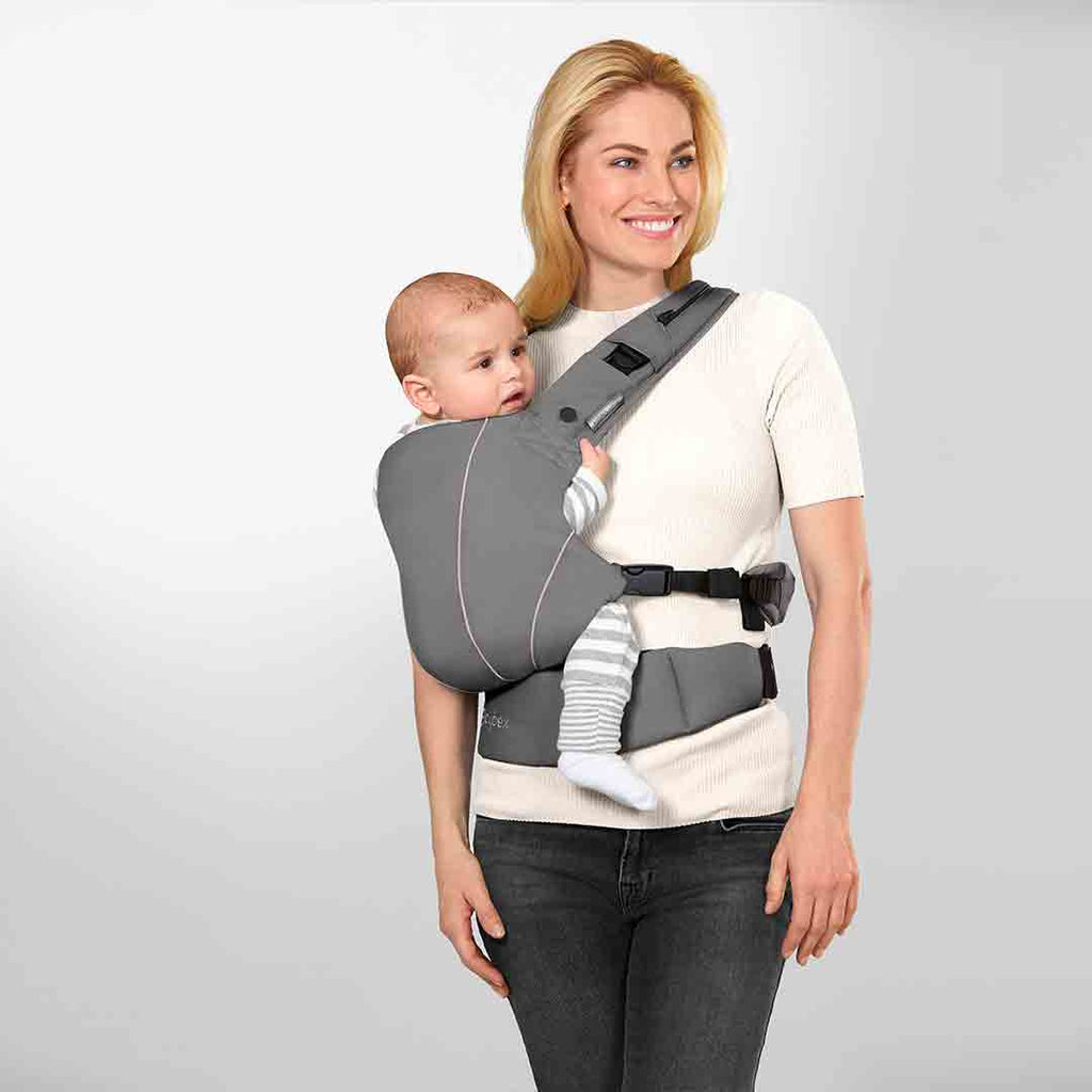 Cybex Maira Click Baby Carrier In Lavastone Black