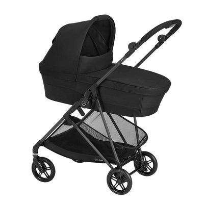 CYBEX Melio Cot - Deep Black-Carrycots- Natural Baby Shower