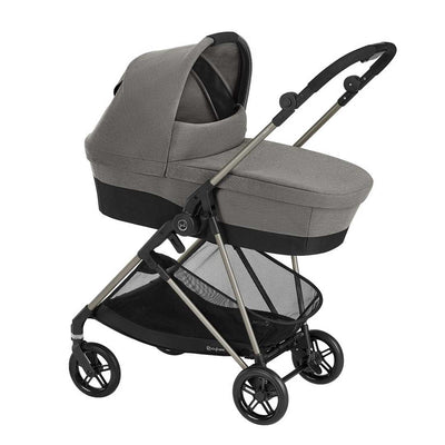 CYBEX Melio Cot - Soho Grey-Carrycots- Natural Baby Shower