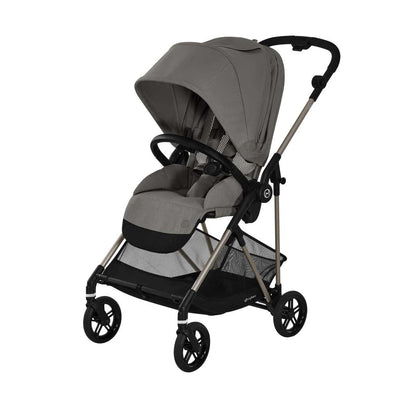 CYBEX Melio TPE Stroller - Soho Grey-Strollers- Natural Baby Shower