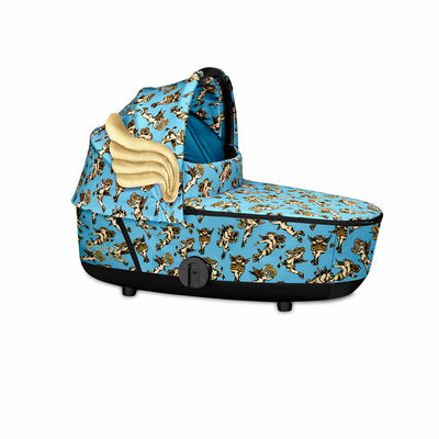 CYBEX Mios Lux Carrycot - Cherub Blue by Jeremy Scott-Carrycots- Natural Baby Shower