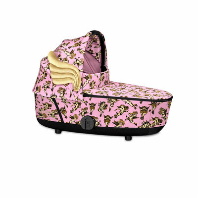 CYBEX Mios Lux Carrycot - Cherub Pink by Jeremy Scott-Carrycots- Natural Baby Shower