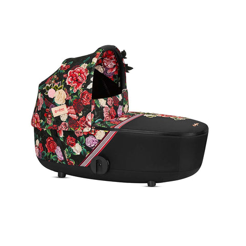 Cybex Mios Carrycot Lux - Spring Blossom Dark-Carrycots- Natural Baby Shower