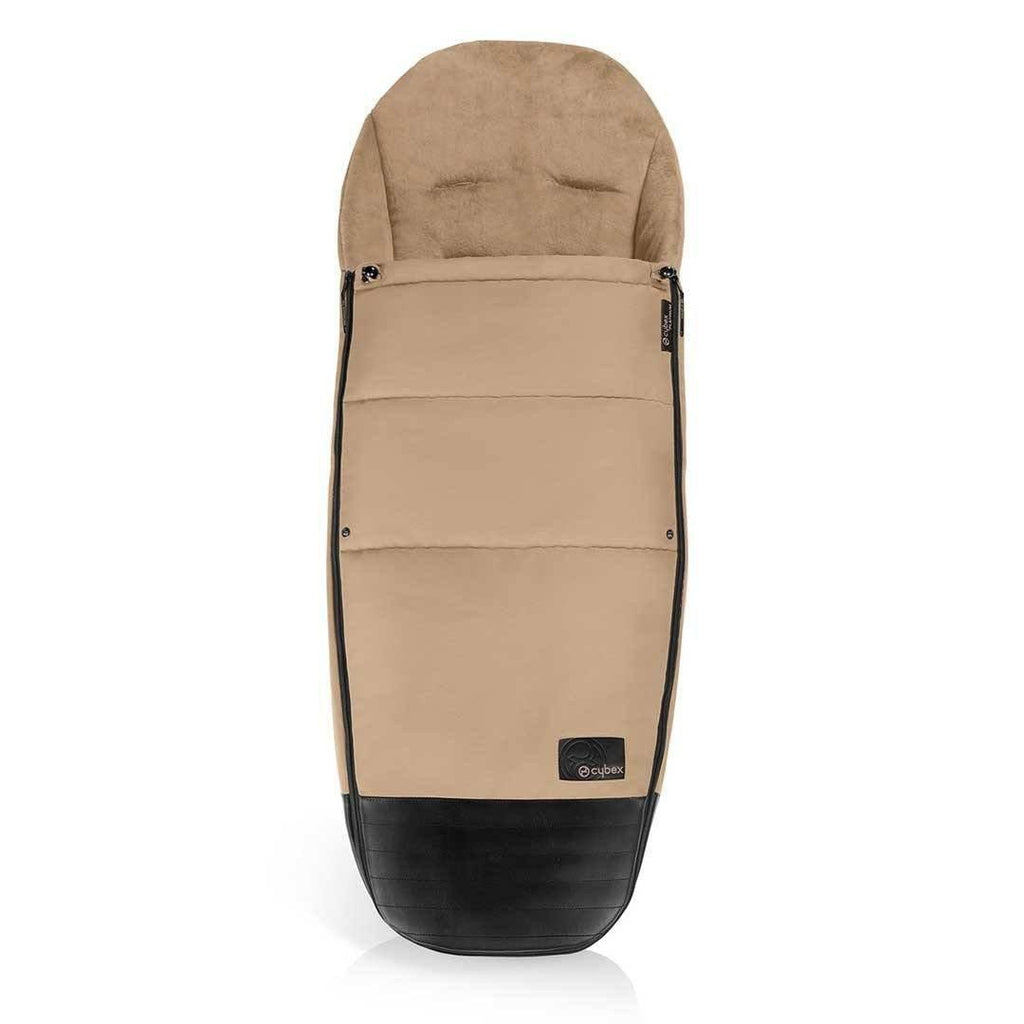 Cybex Mios Footmuff - Cashmere Beige-Footmuffs- Natural Baby Shower