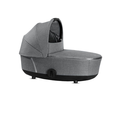 CYBEX Mios Lux Cot - Plus - Manhattan Grey-Carrycots- Natural Baby Shower