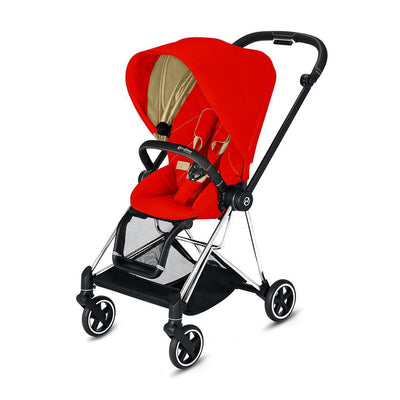 Cybex Mios Pushchair - 2020 - Autumn Gold-Strollers-Chrome Black-None- Natural Baby Shower