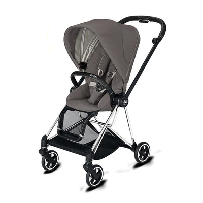 Cybex Mios Pushchair - 2020 - Soho Grey-Strollers-Chrome Black-None- Natural Baby Shower