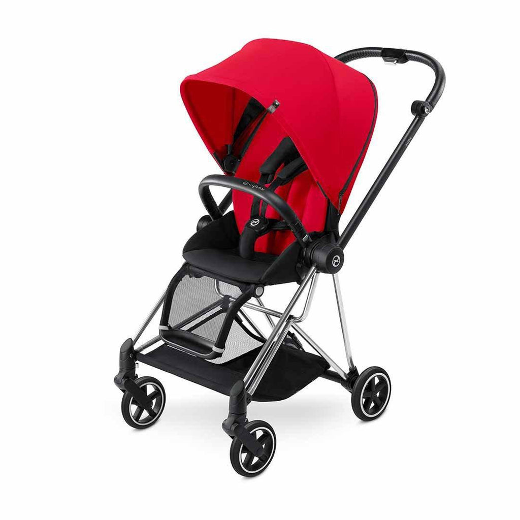 Cybex Mios Pushchair - Chrome + Infra Red