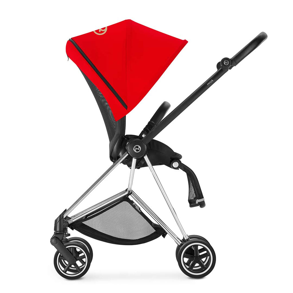 Cybex Mios Pushchair - Chrome + Infra Red 7