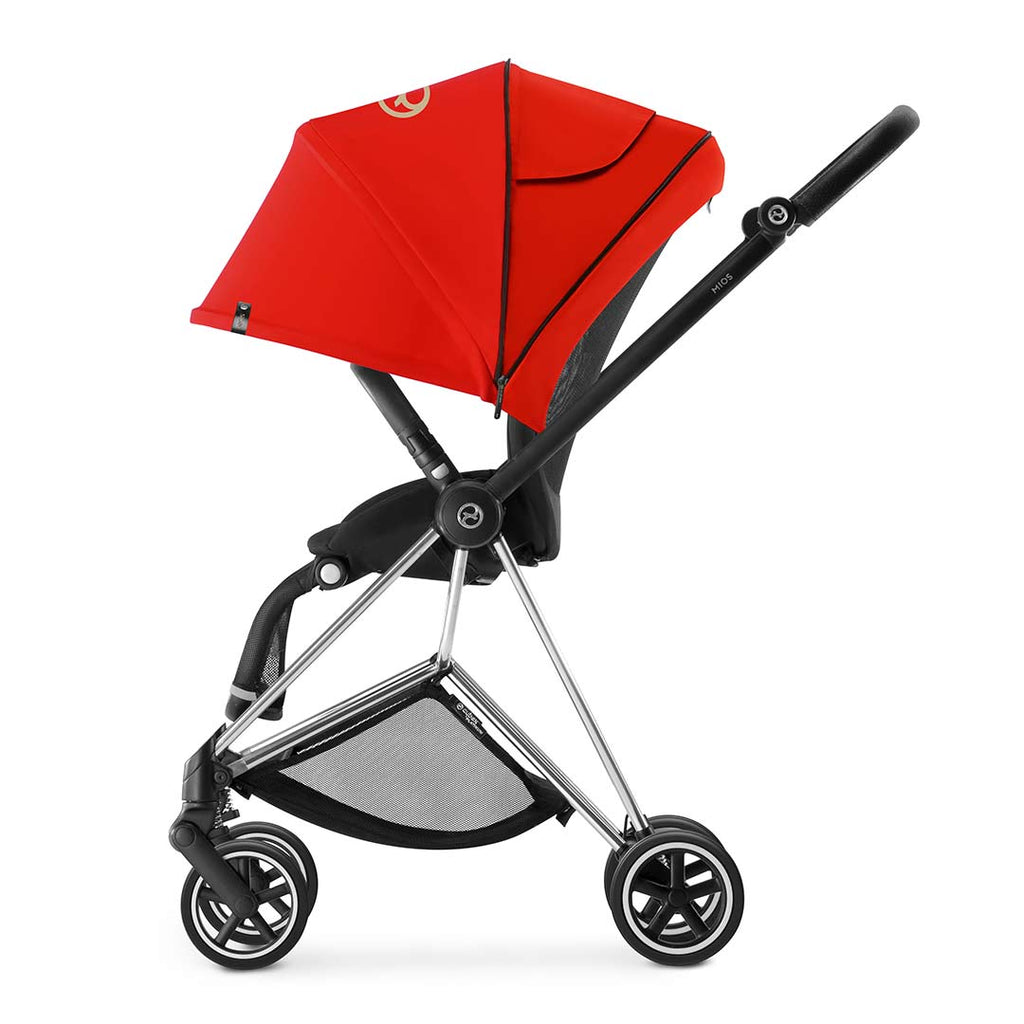 Cybex Mios Pushchair - Chrome + Infra Red 4