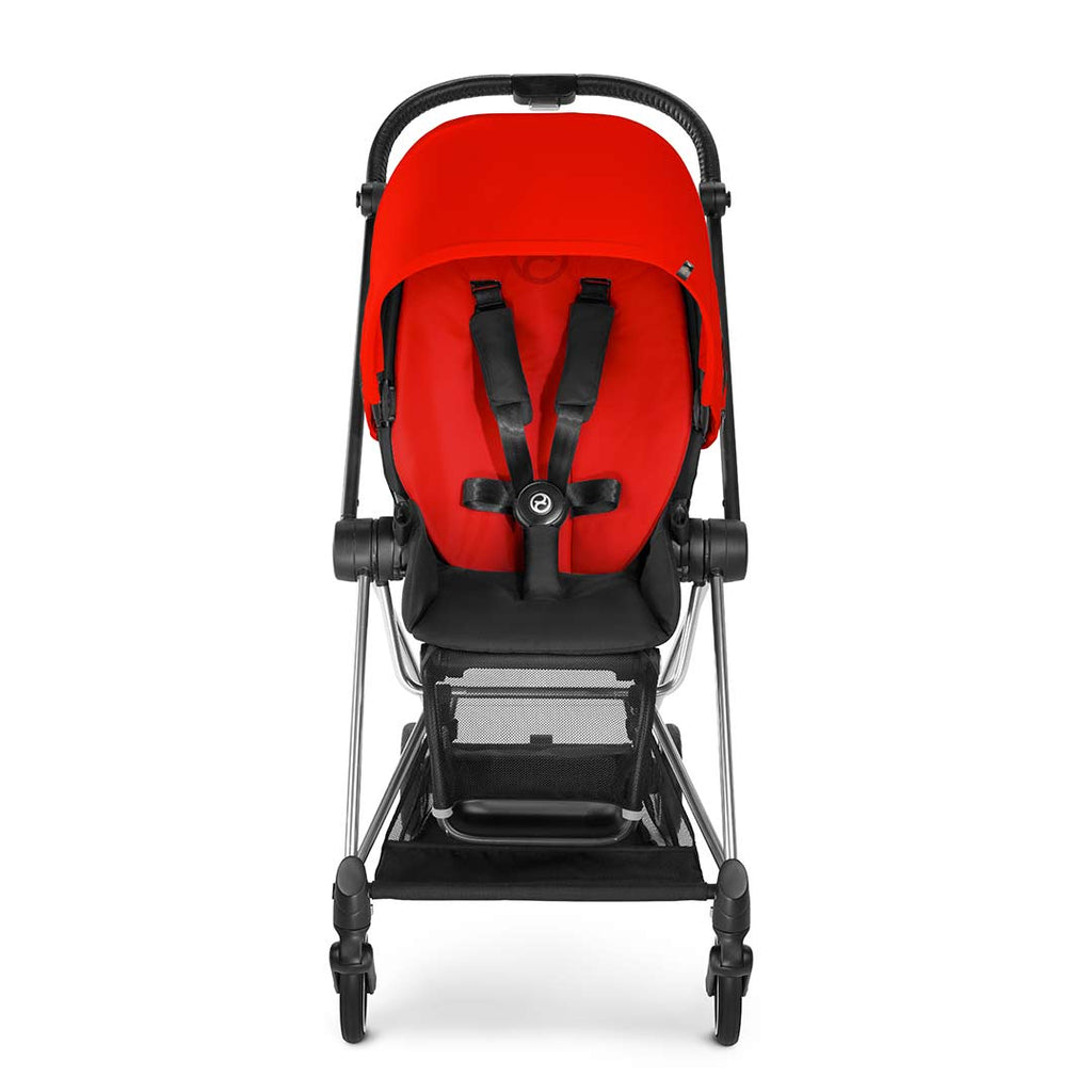 Cybex Mios Pushchair - Chrome + Infra Red 1