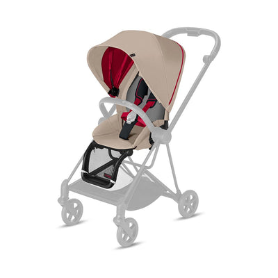 CYBEX Mios Seat Pack - Scuderia Ferrari - Silver Grey-Stroller Seats- Natural Baby Shower