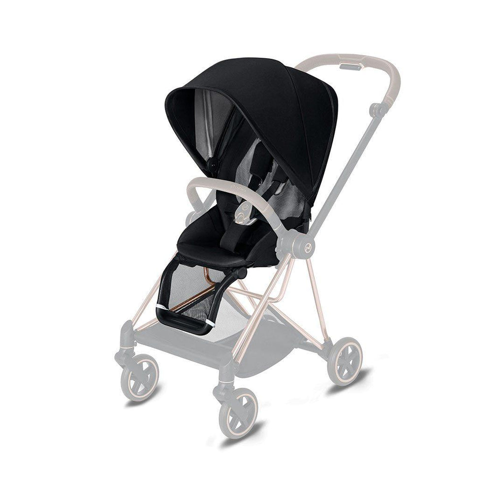 Cybex Mios Seat Pack - Premium Black-Stroller Seats- Natural Baby Shower