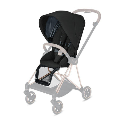 CYBEX Mios Seat Pack - 2020 - Deep Black-Colour Packs- Natural Baby Shower