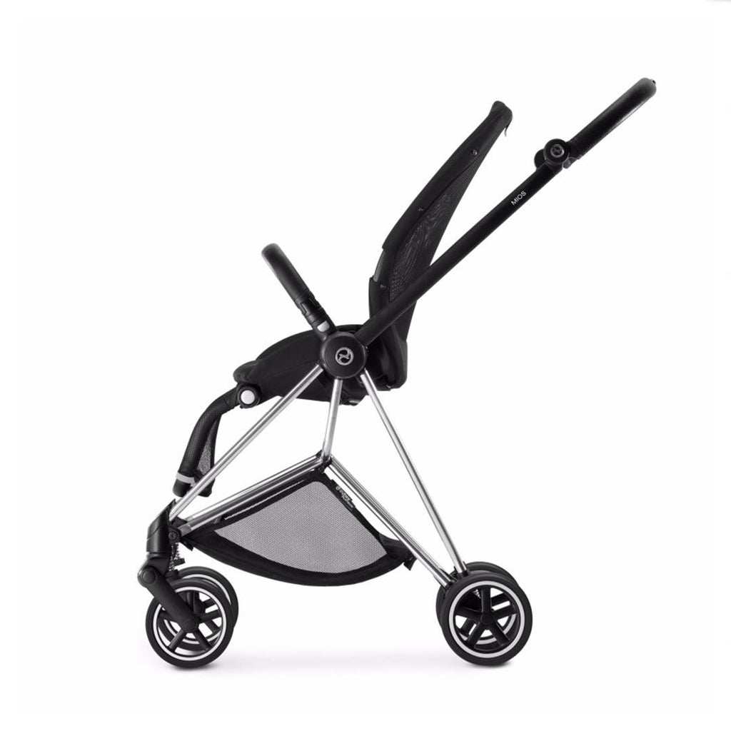 Cybex Mios Seat & Frame - Chrome-Stroller Frames-Chrome- Natural Baby Shower