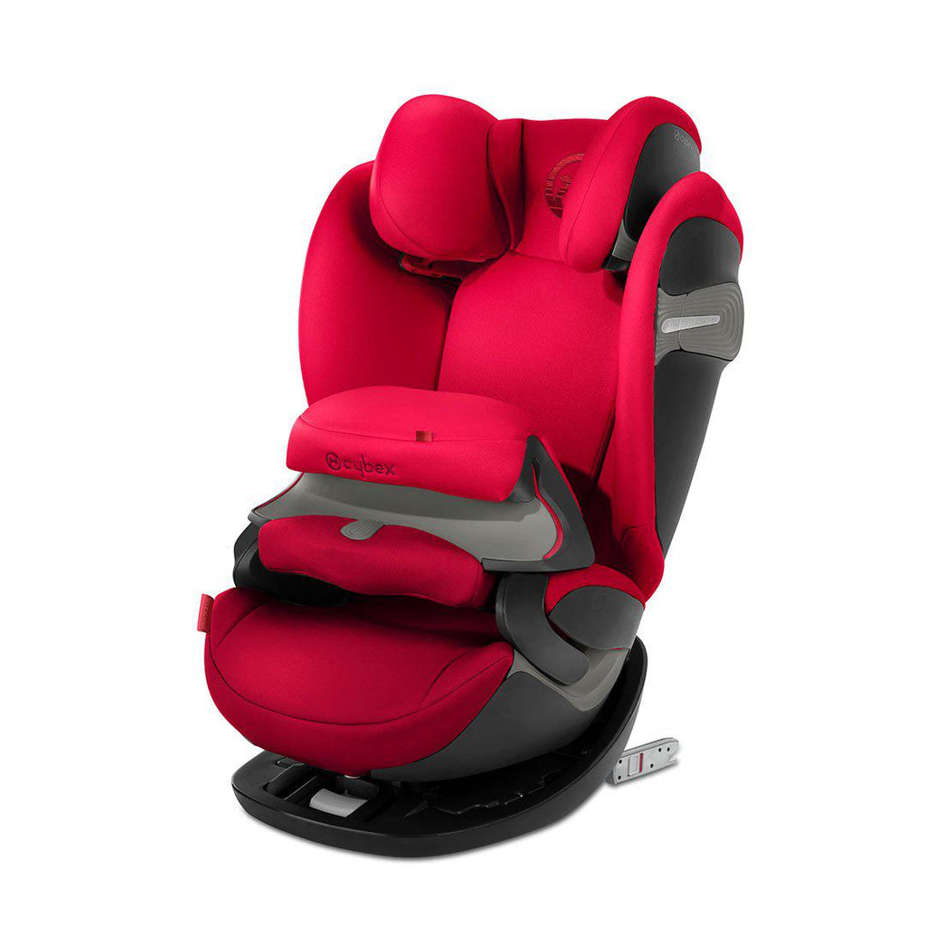 Cybex Pallas S-Fix Car Seat - Rebel Red-Car Seats- Natural Baby Shower