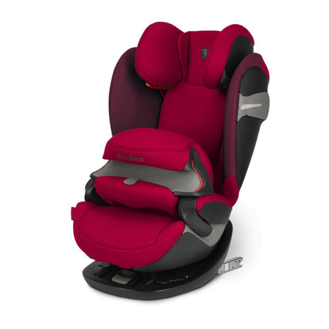 Cybex Pallas S-Fix Car Seat - Scuderia Ferrari - Racing Red-Car Seats- Natural Baby Shower